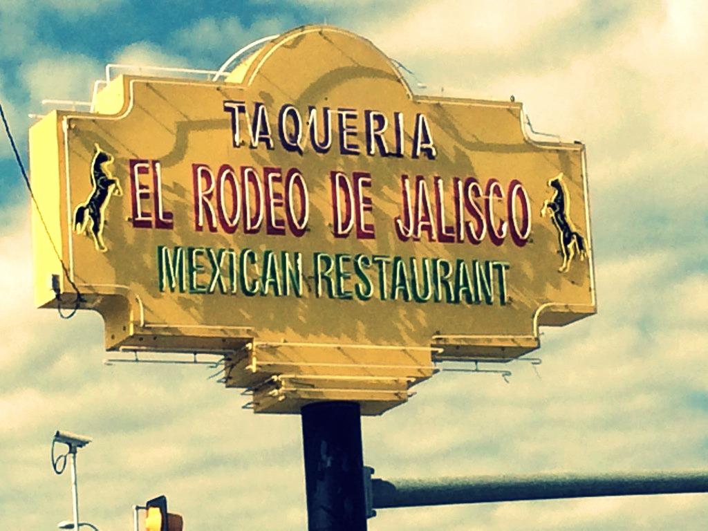 Taqueria El Rodeo De Jalisco Hondo Menus